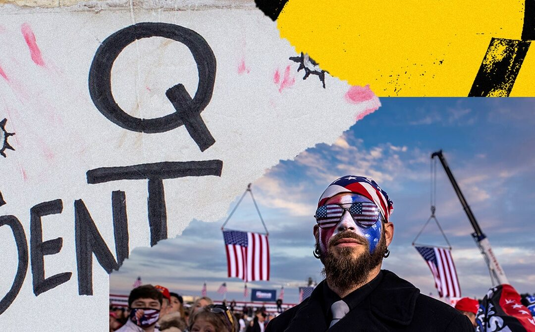 QAnon Pivots Its Exiled Online Movement to the Real World